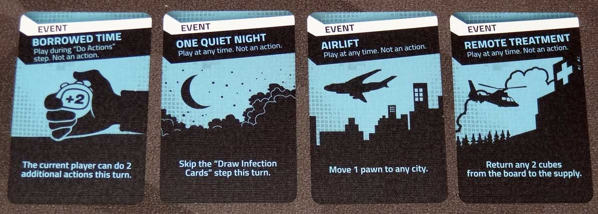 Pandemic: HotZone—North America event cards