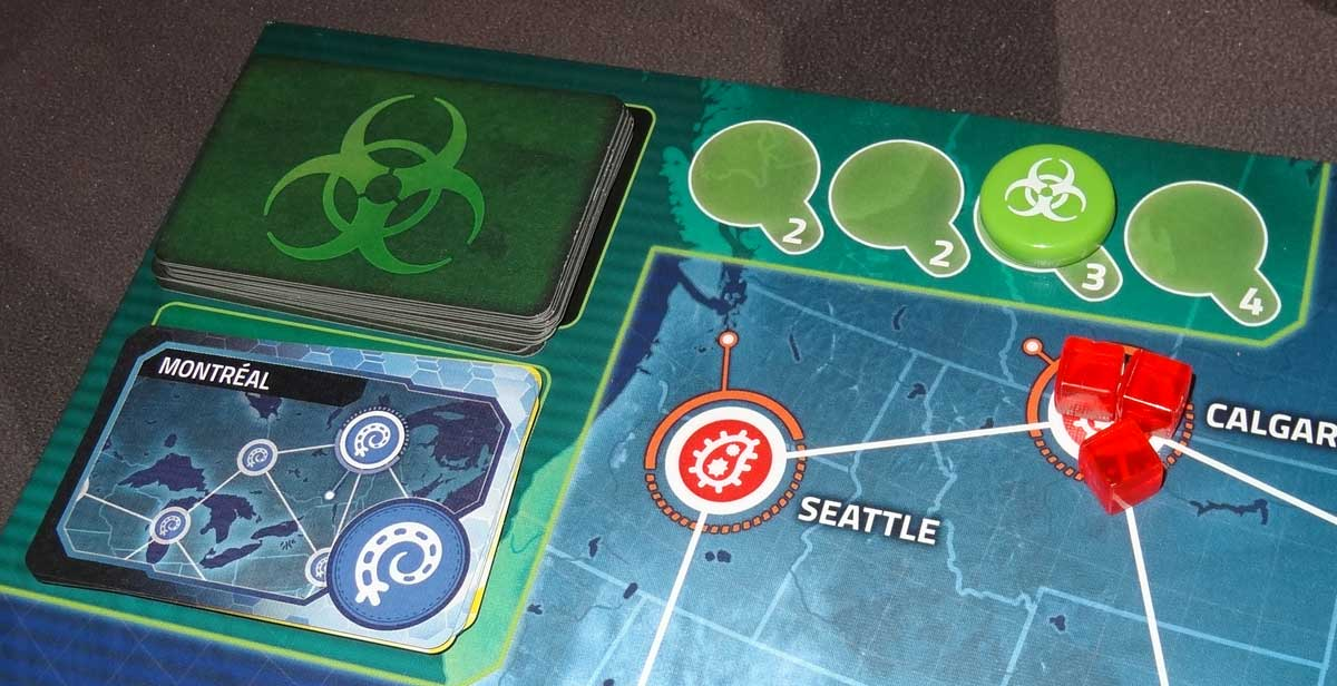 Pandemic: HotZone—North America infection rate track