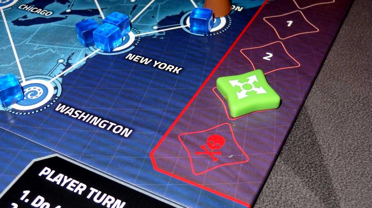 Pandemic: HotZone—North America outbreak track