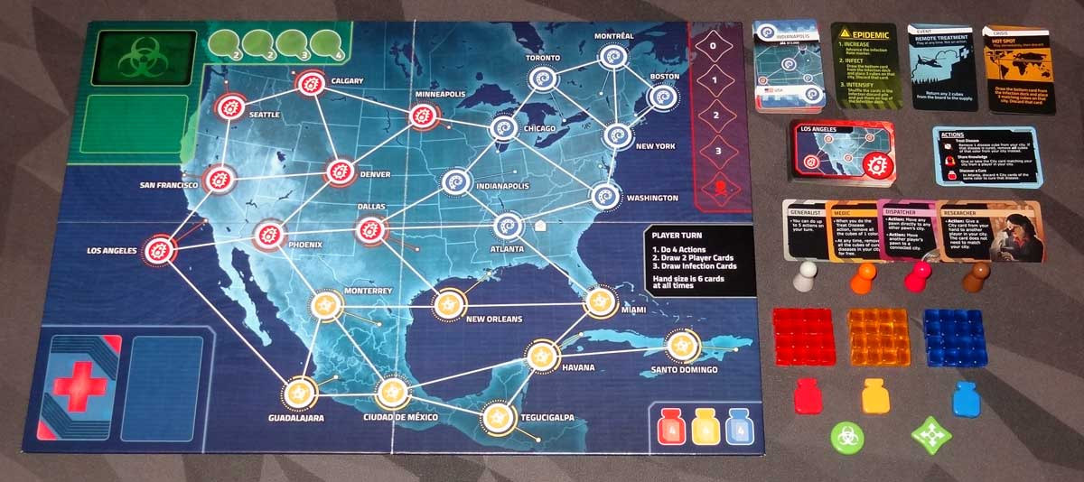Pandemic: HotZone—North America components