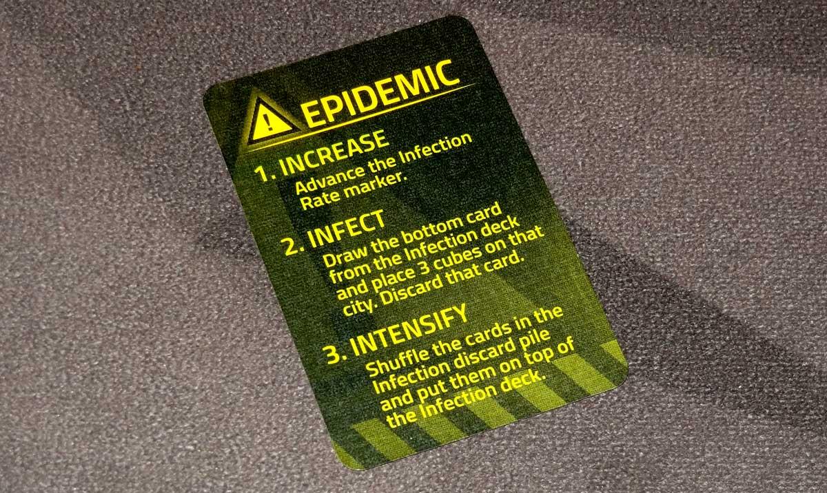 Pandemic: HotZone—North America epidemic card