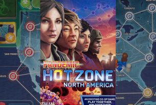 Pandemic: HotZone—North America box cover