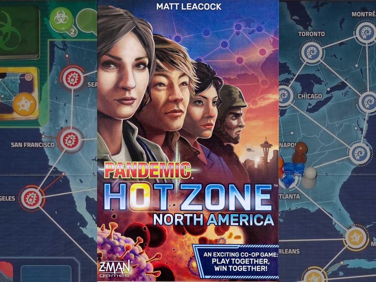 Pandemic: HotZone—North America box cover