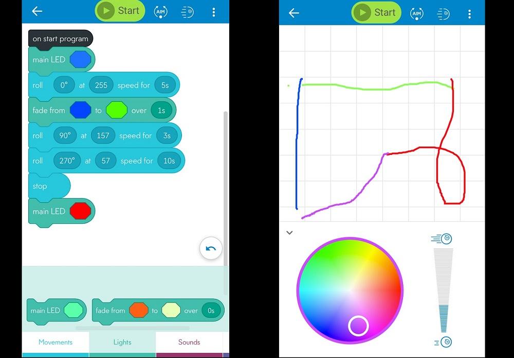 Sphero Edu app lets you code the Sphero Mini Golf