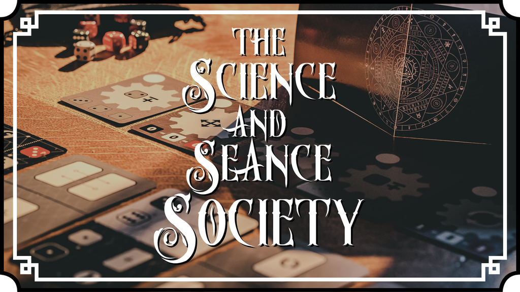 Science and Seance Society banner