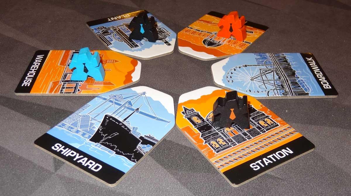 Slip Strike 4-player setup
