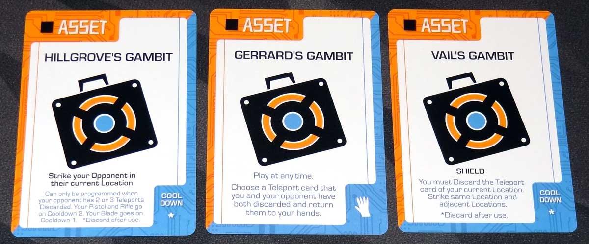 Slip Strike gambit assets