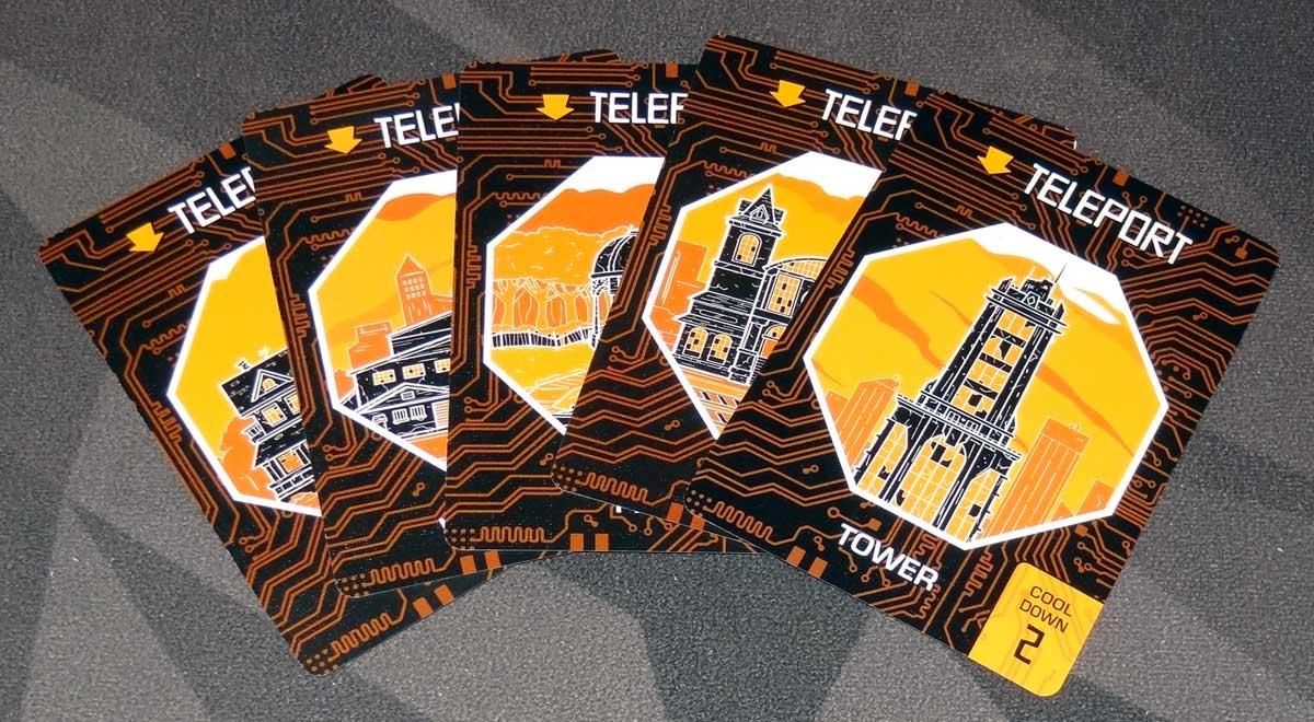 Slip Strike Teleport cards