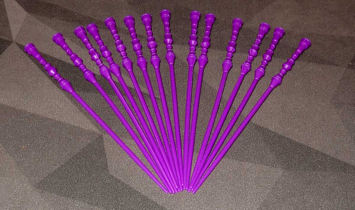 Something Wicked 14 purple wands