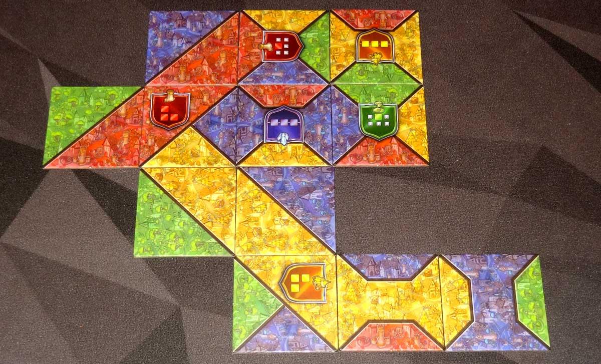 Sorcerer City completed district