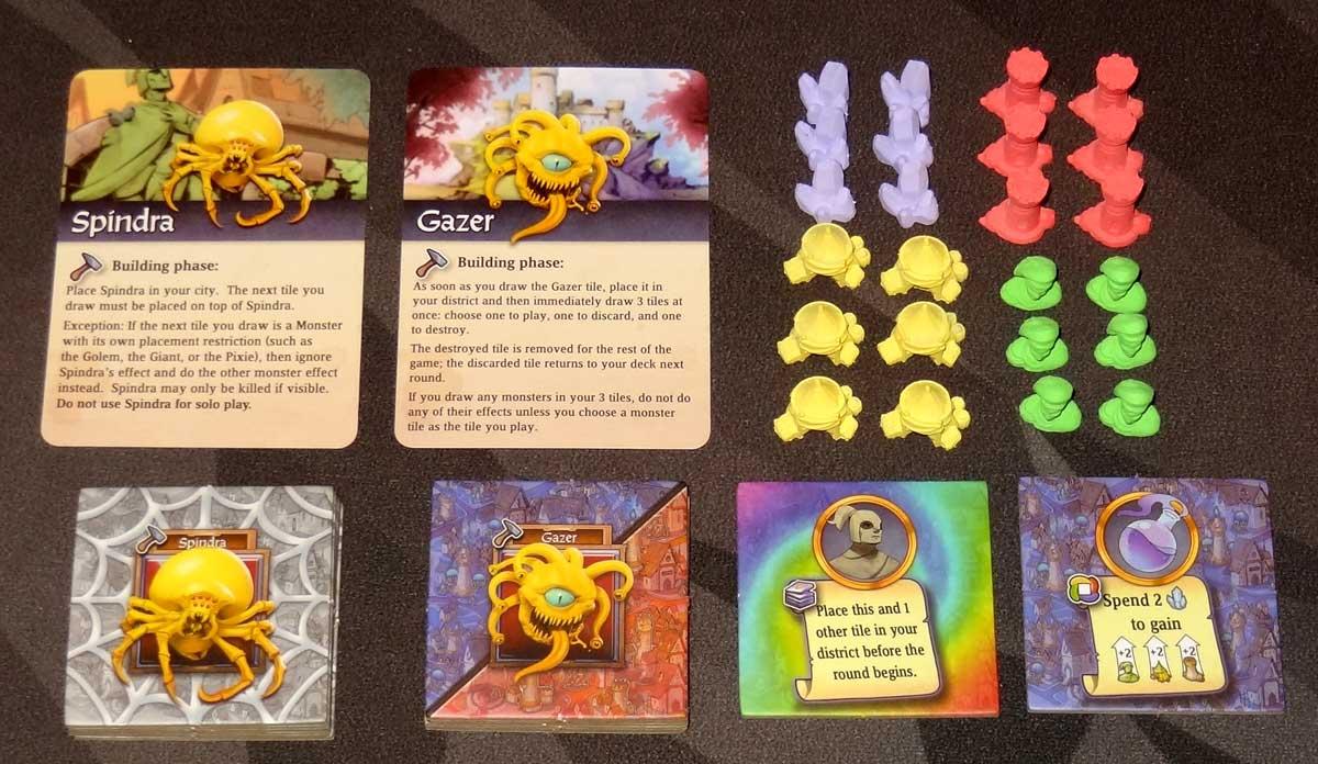 Sorcerer City tile pack components