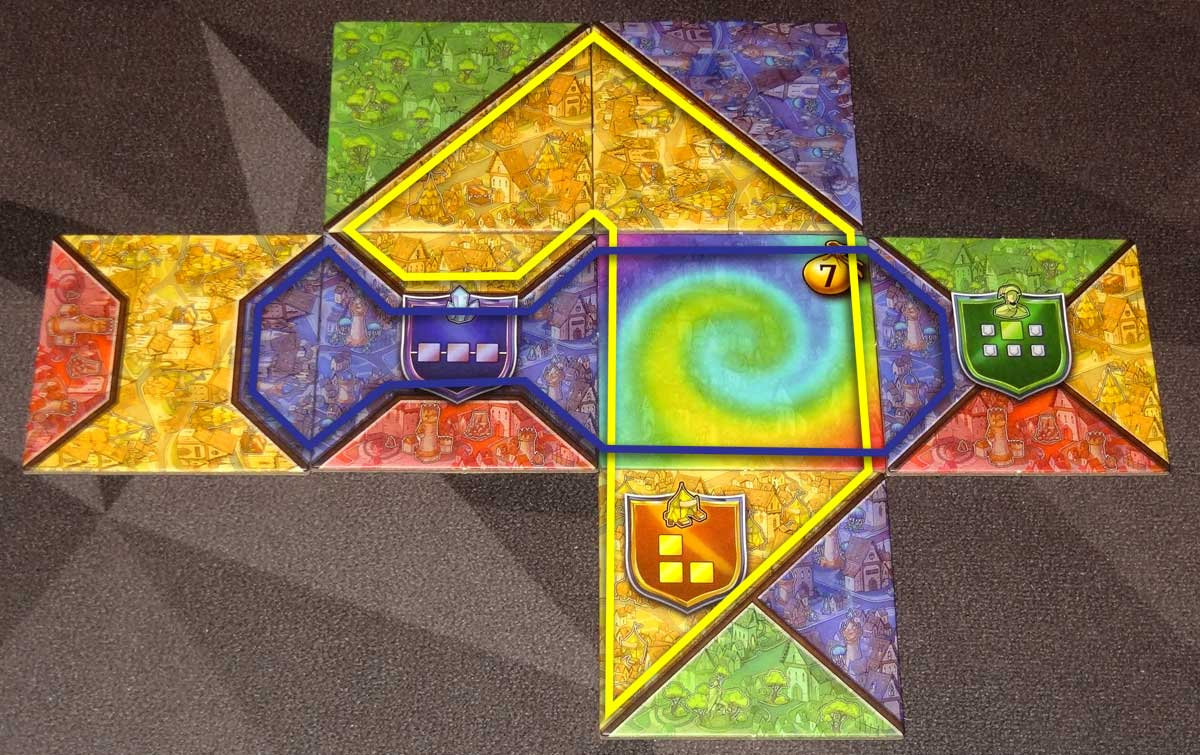 Sorcerer City rainbow tile example