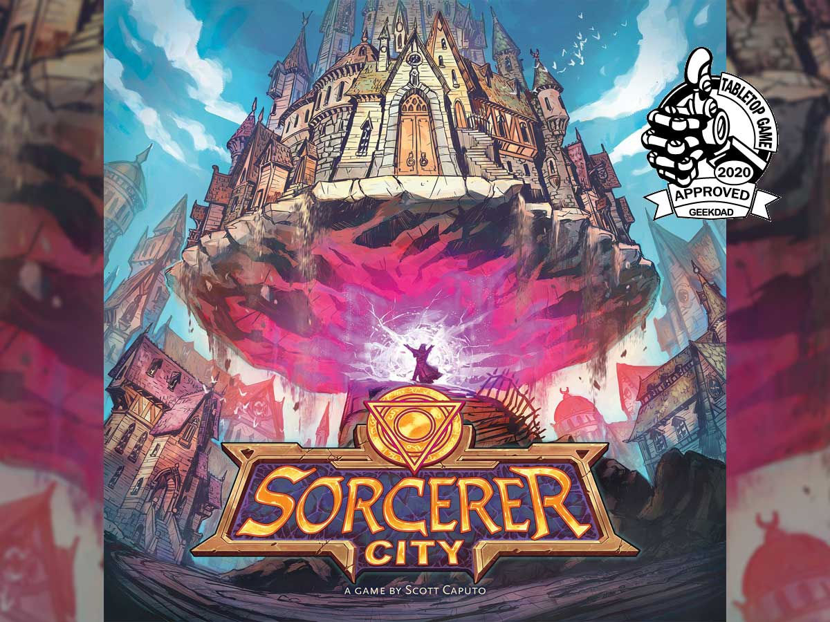 Sorcerer City box cover