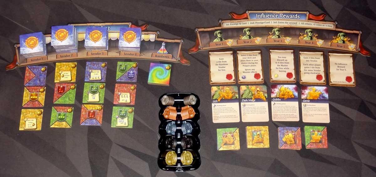 Sorcerer City setup