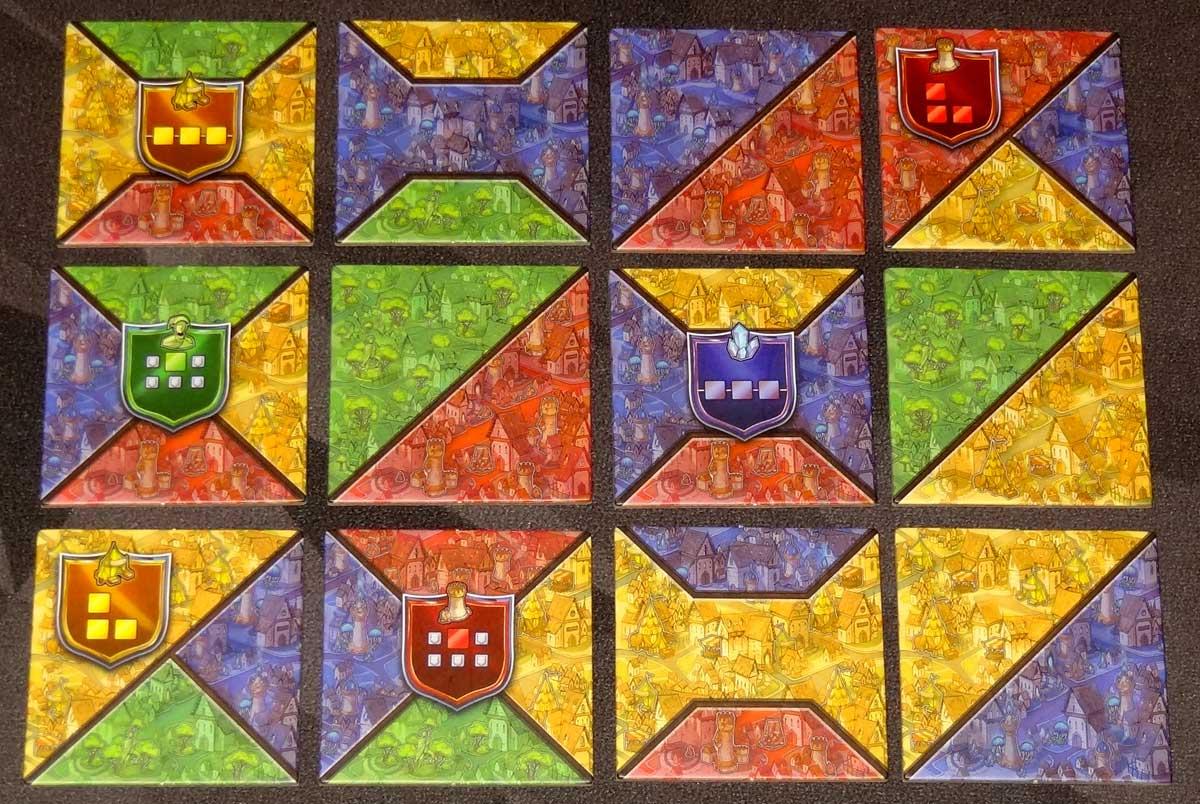 Sorcerer City starting tiles