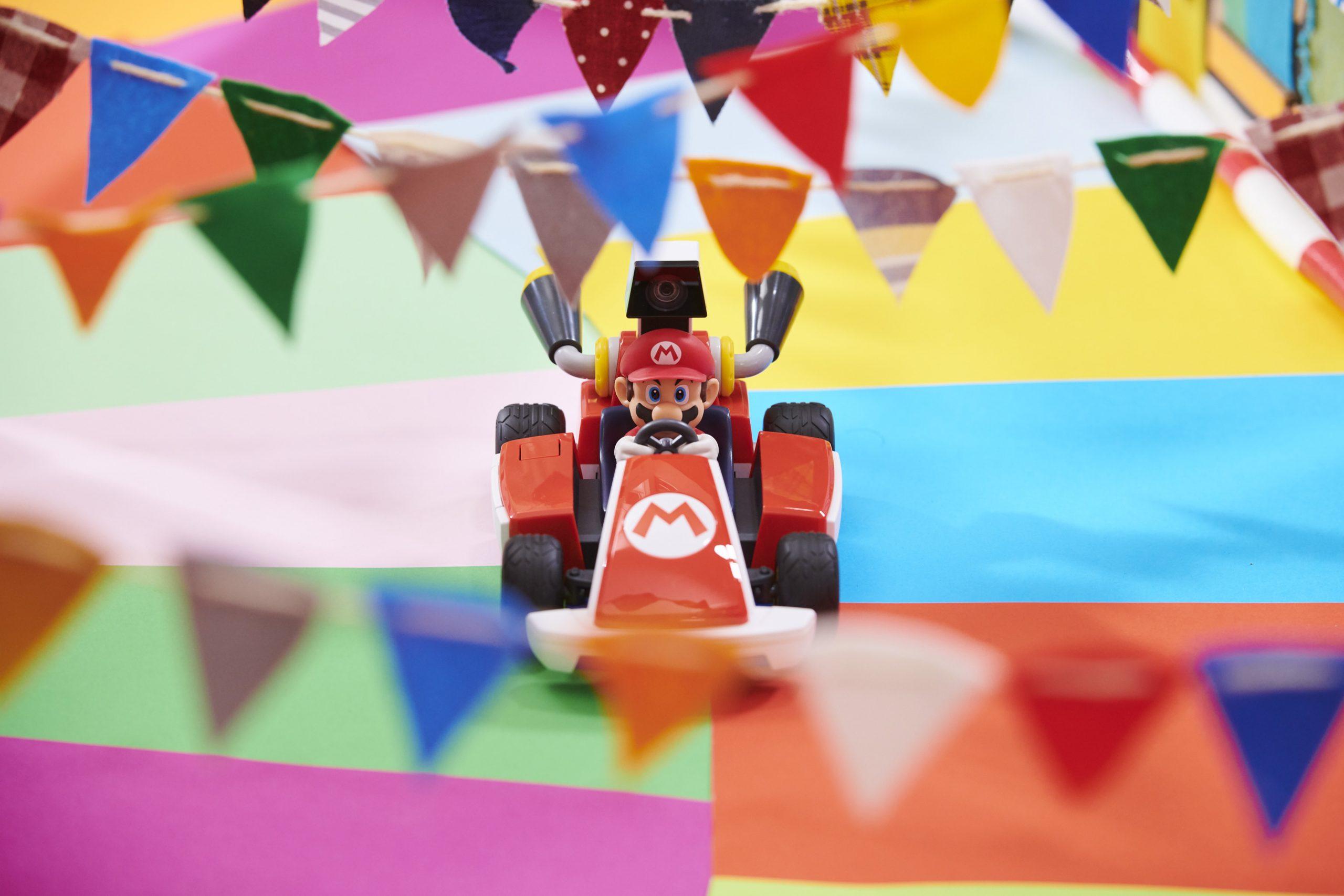 Mario Kart Live: Home Circuit finish line