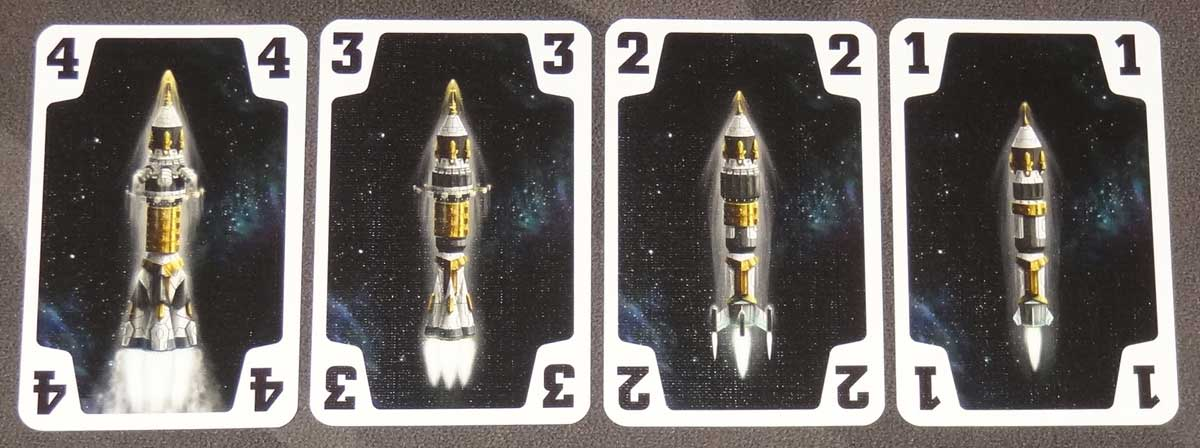 The Crew rocket cards