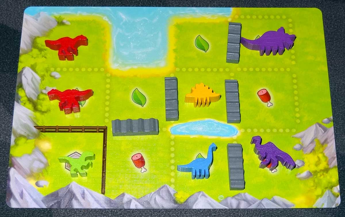 Tiny Epic Dinosaurs ranch