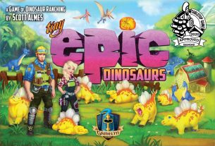 Tiny Epic Dinosaurs box cover