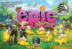 Tiny Epic Dinosaurs box cover