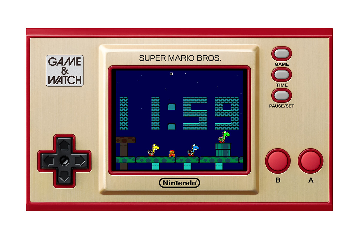 Game and Watch Super Mario Bros Time
