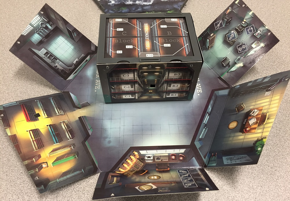 cell block on the gameboard
