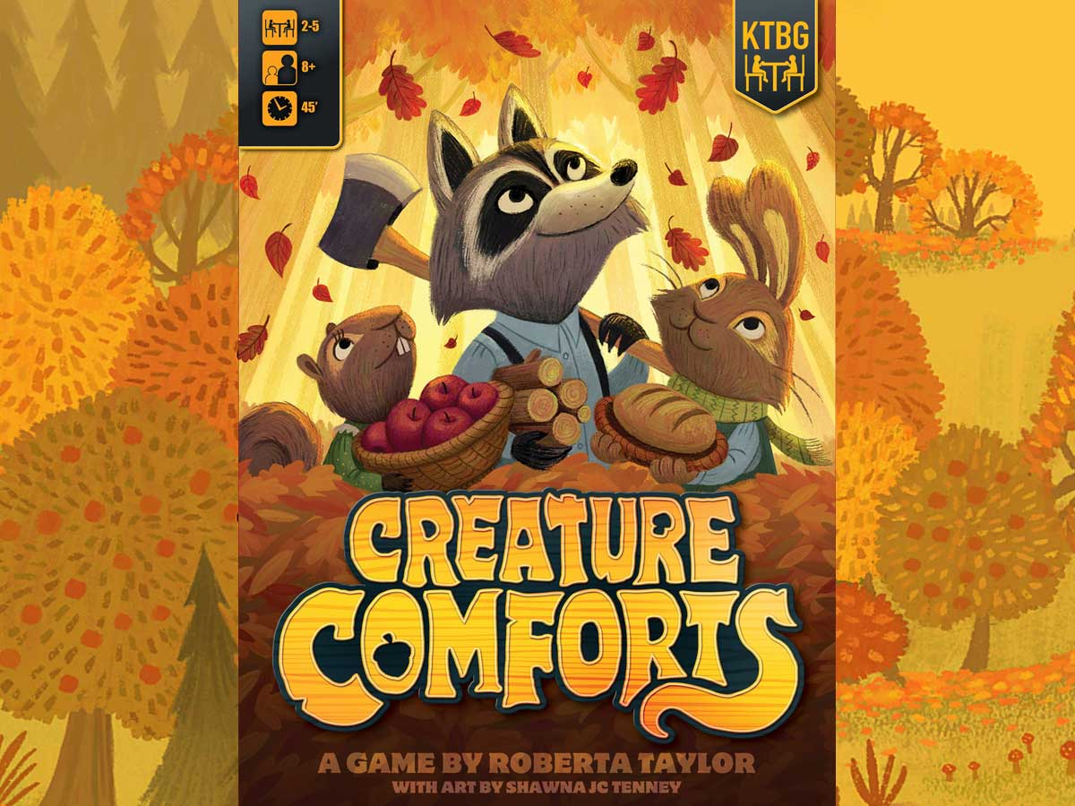 Creature Comforts cover