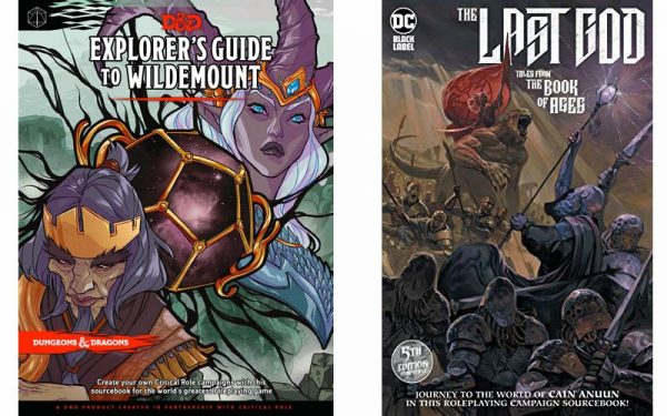 Two D&D Sourcebooks