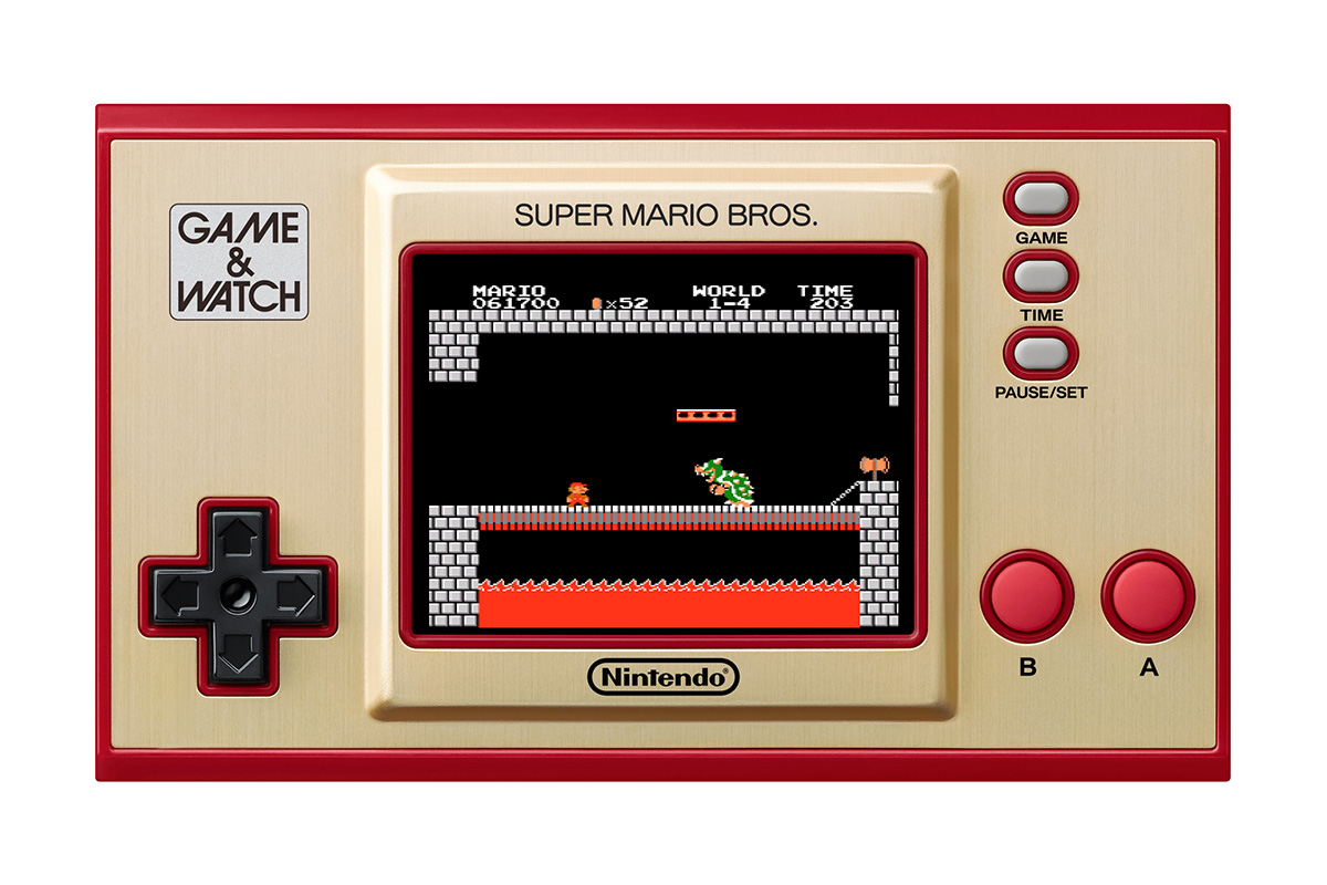 Game and Watch Super Mario Bros Bowser
