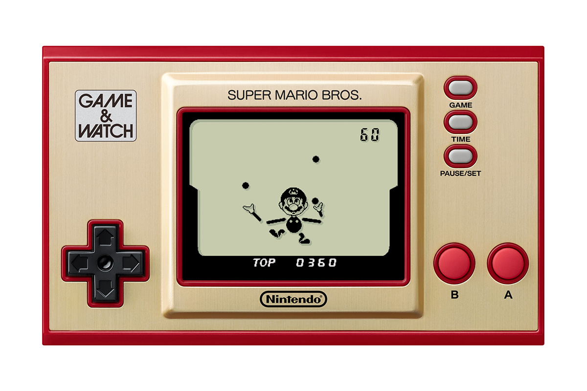 Game and Watch Super Mario Bros Ball