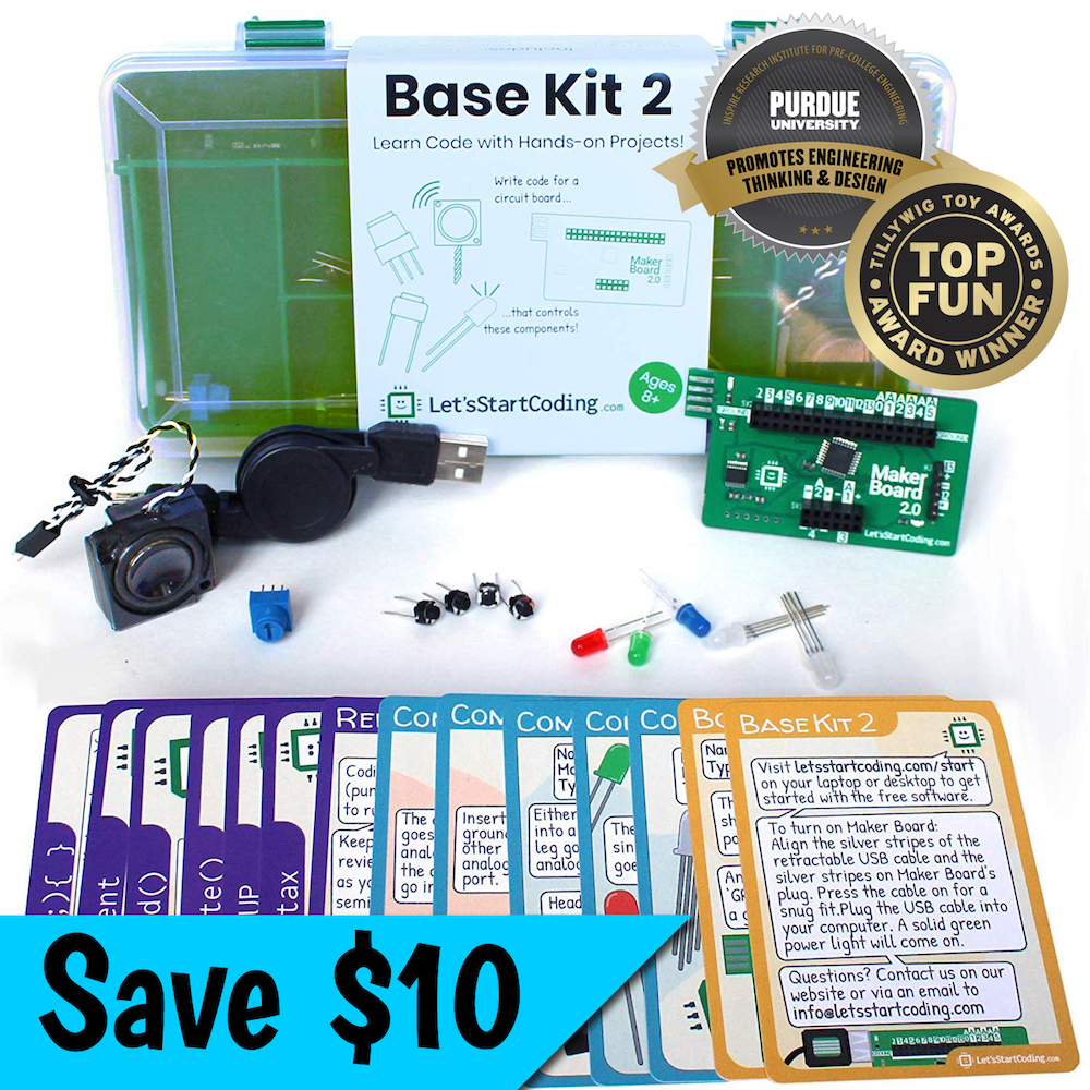 Geek Daily Deals 111720 coding base kit