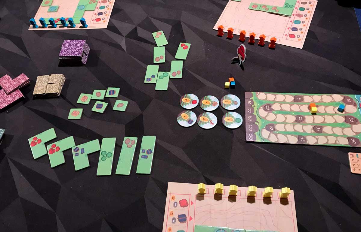 Miyabi - choosing tiles
