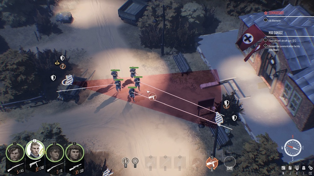 ambush on enemy patrol
