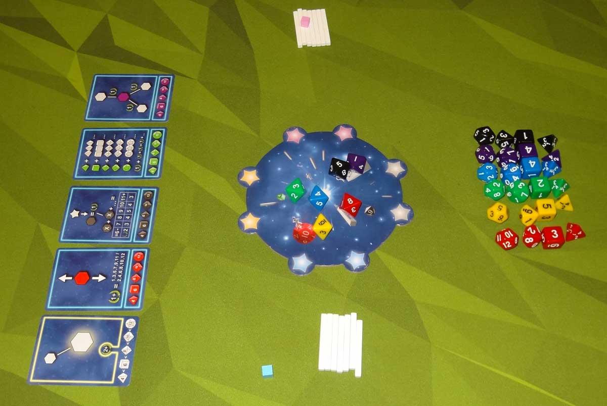 Twinkle 2-player setup