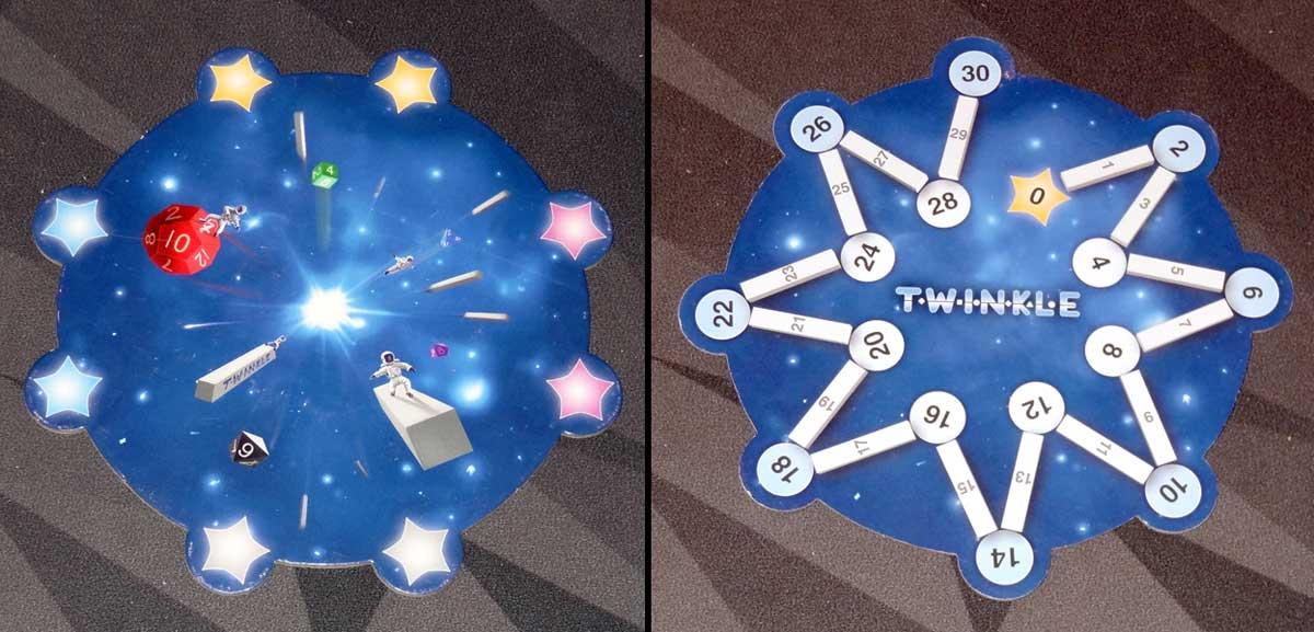 Twinkle galaxy board