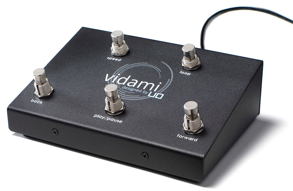 vidami video-looping foot pedal