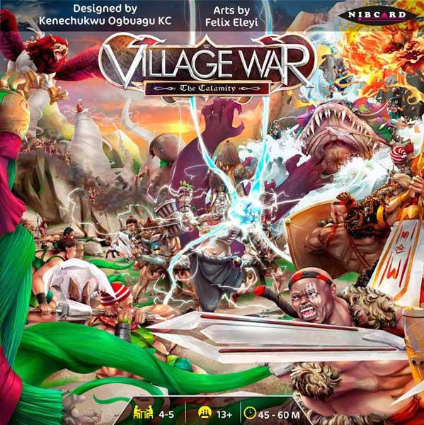 Village War cover