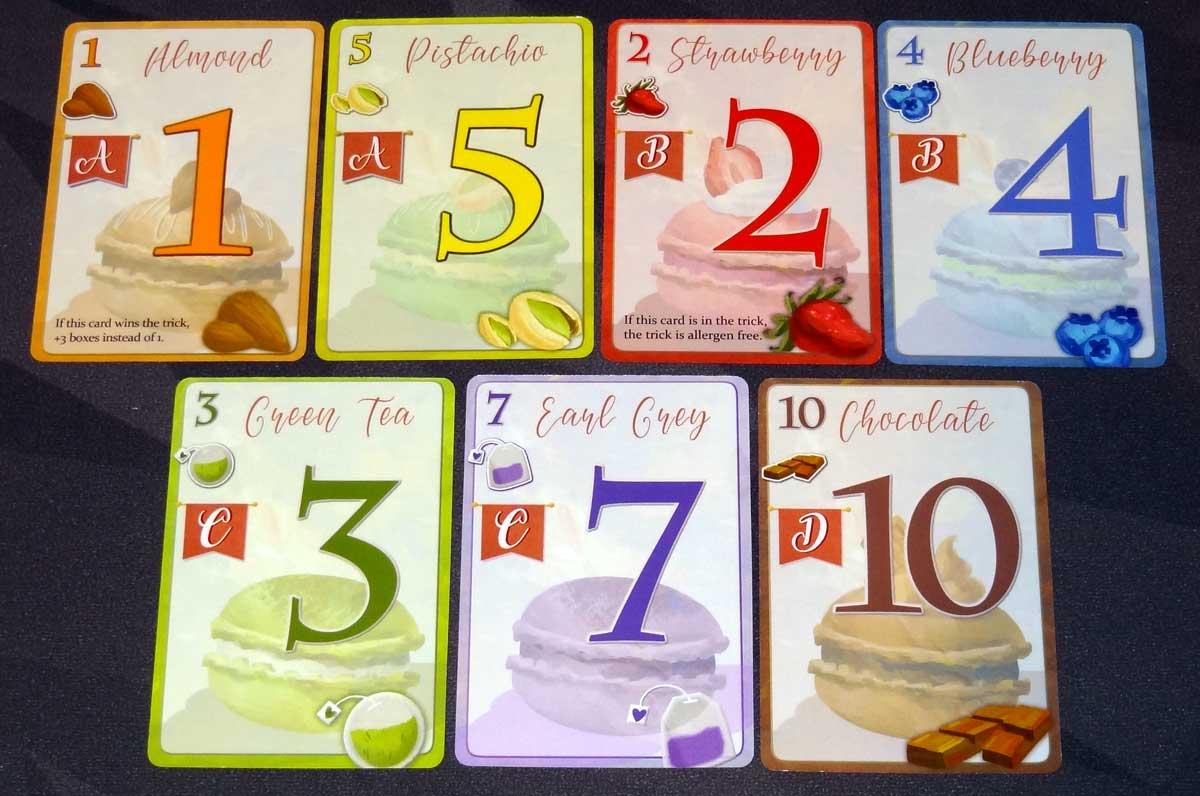 Macaron cards