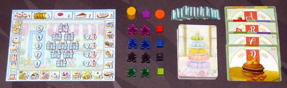 Macaron components