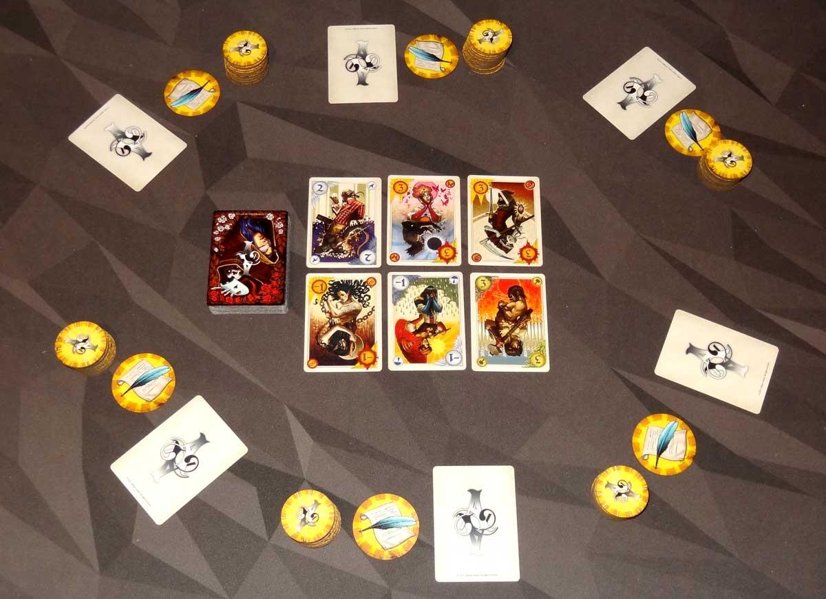 Allegory 6-player setup