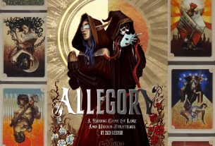 Allegory box cover