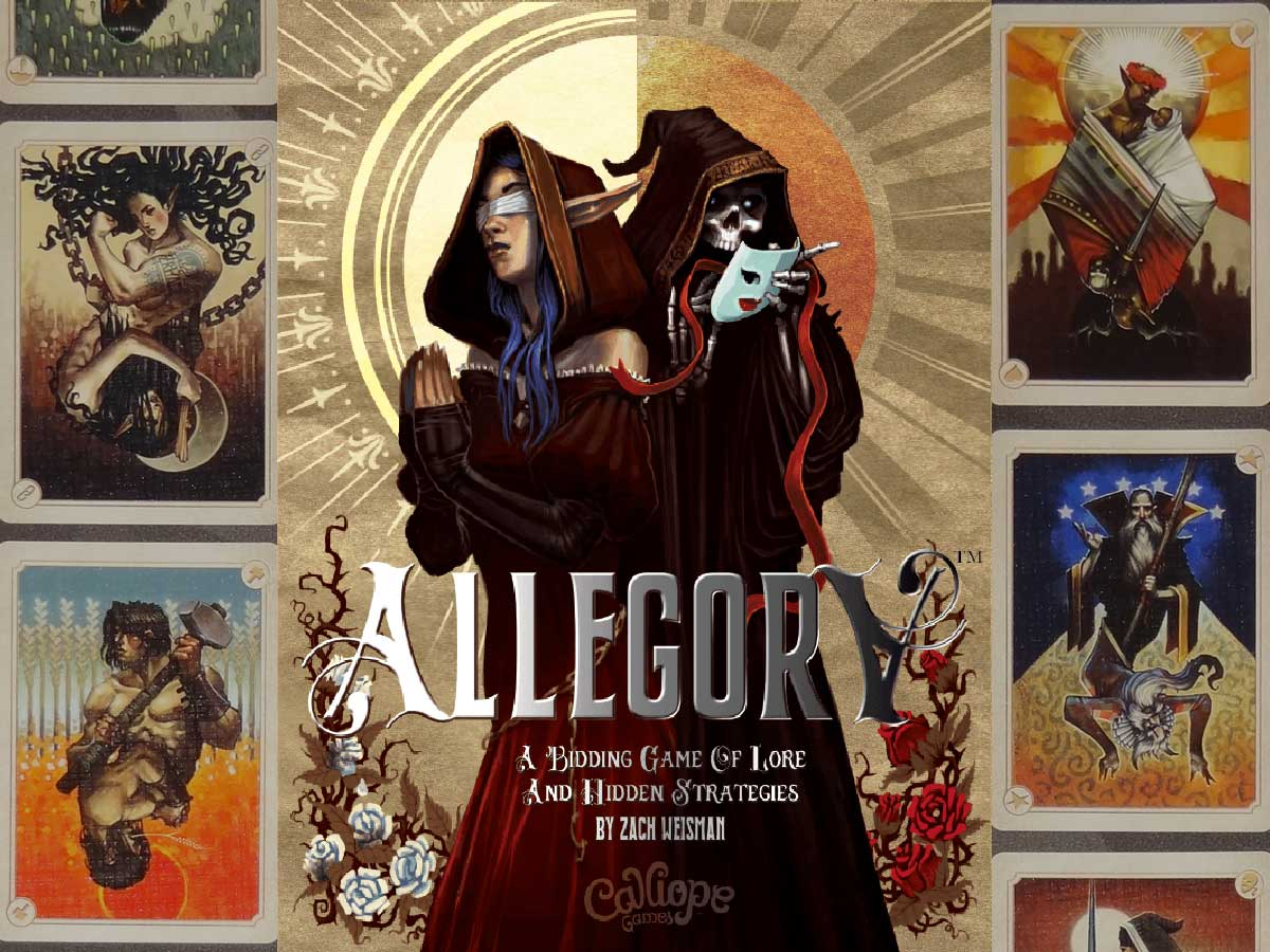 Allegory box cover