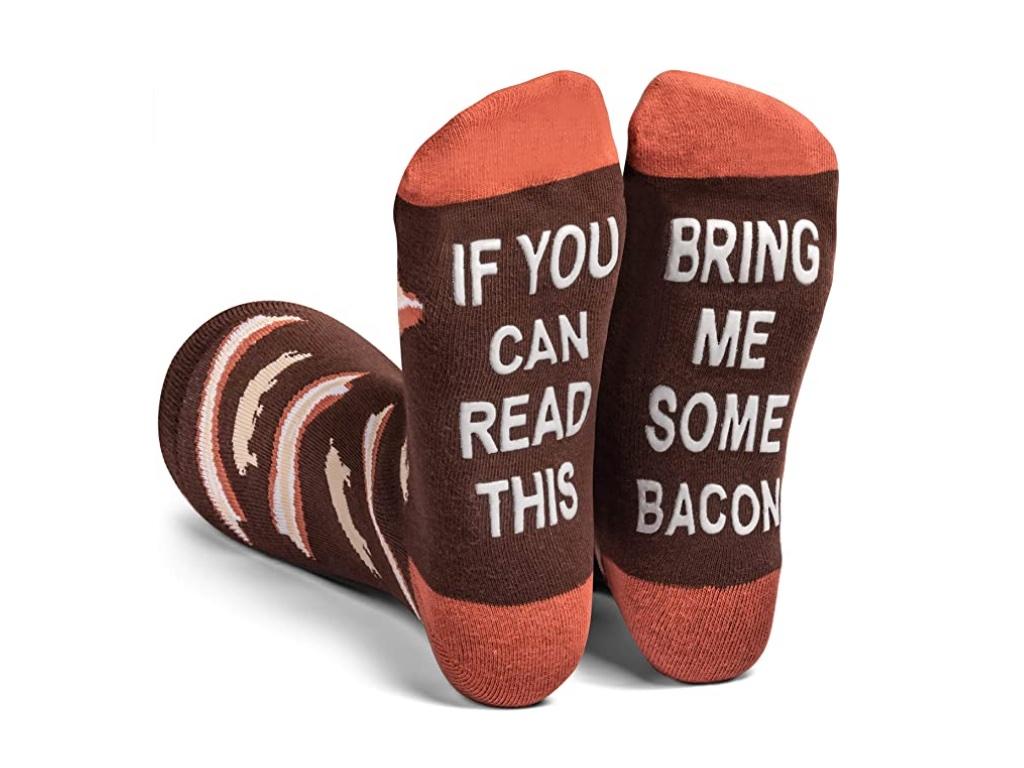 Geek Daily Deals 122120 bacon socks