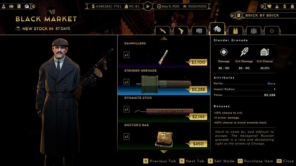 black market screen