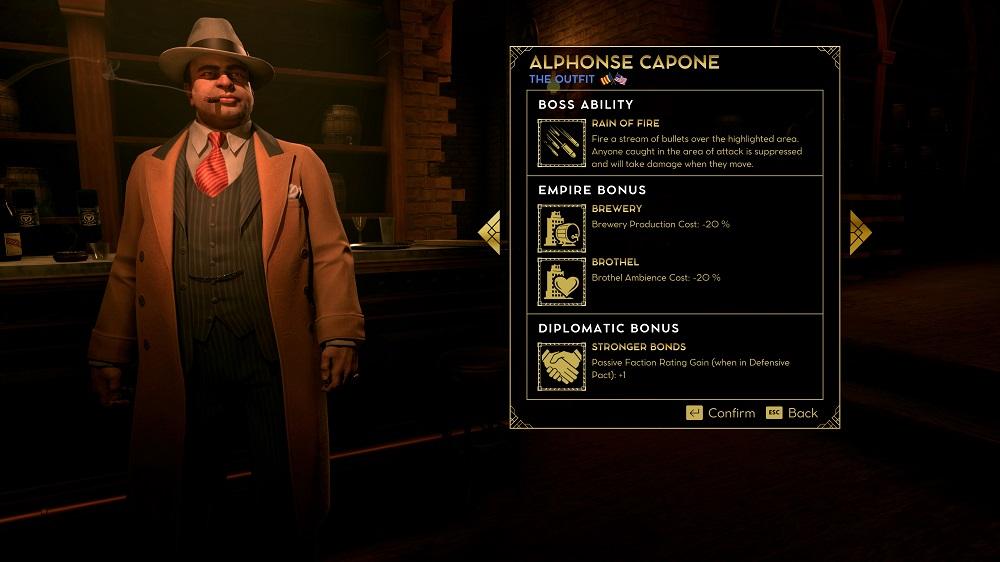 Al Capone boss screen