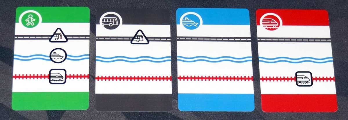Mass Transit movement cards