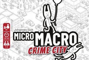 MicroMacro: Crime City cover