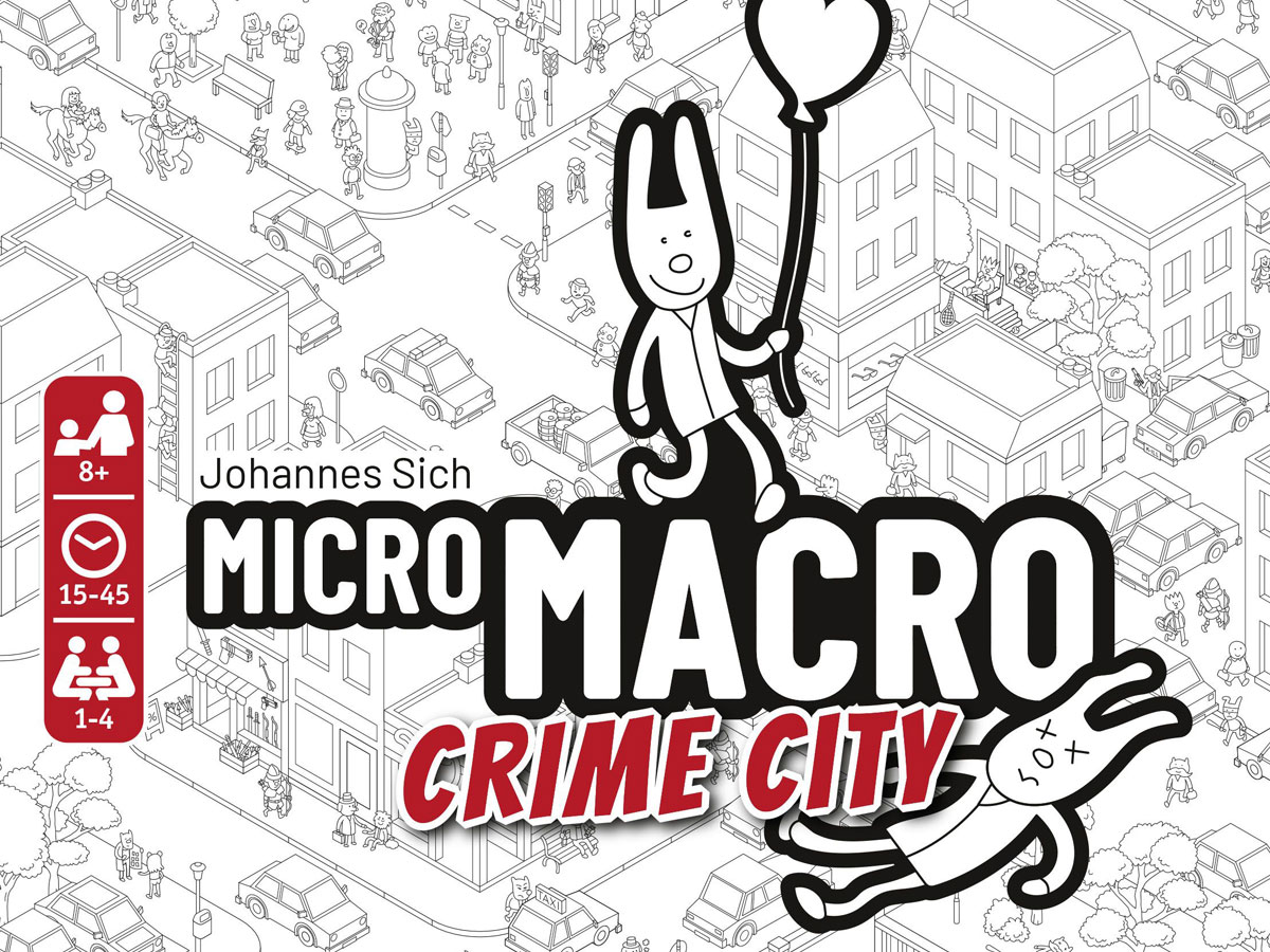 MicroMacro: Crime City cover