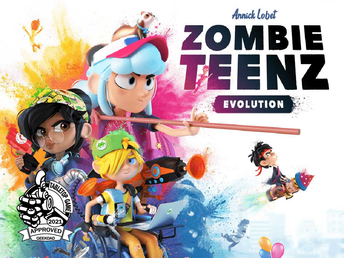 Zombie Teenz Evolution - cover
