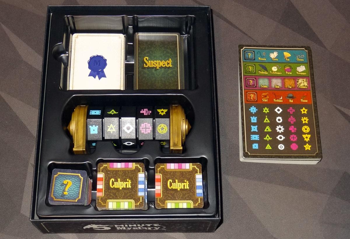 5-Minute Mystery box insert